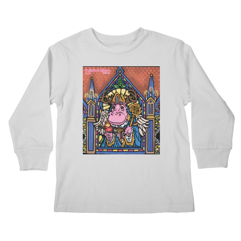 Ol' St. Auggie's Kids Longsleeve T-Shirt by Twisted Hippo Brewing