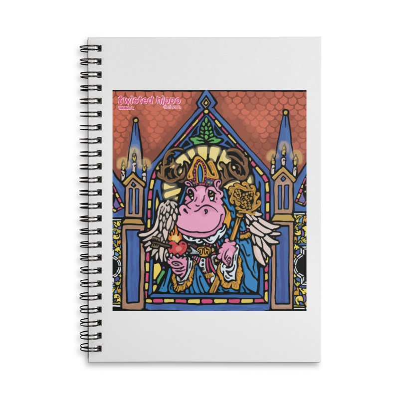 Ol' St. Auggie's Accessories Lined Spiral Notebook by Twisted Hippo Brewing