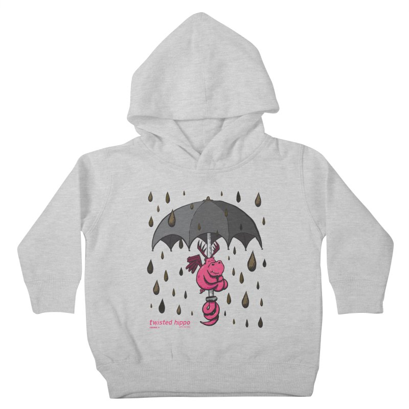 Black Umbrella Kids Toddler Pullover Hoody by Twisted Hippo Brewing