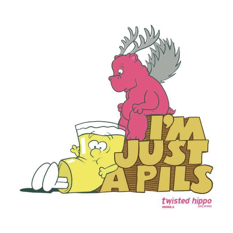 I'm Just a Pils Accessories Beach Towel by Twisted Hippo Brewing