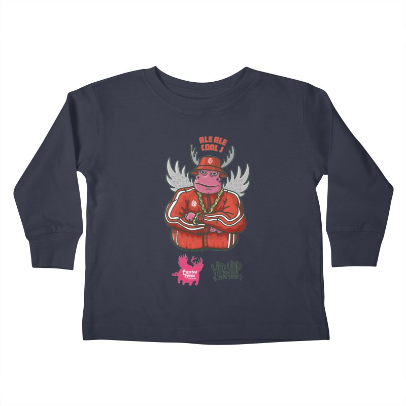 Ale Ale Cool J Kids Toddler Longsleeve T-Shirt by Twisted Hippo Brewing