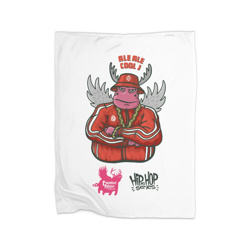 Ale Ale Cool J Home Blanket by Twisted Hippo Brewing