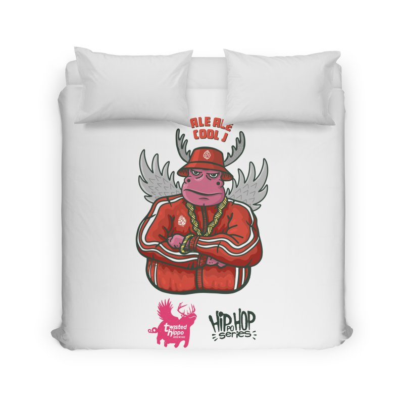 Ale Ale Cool J Home Duvet by Twisted Hippo Brewing