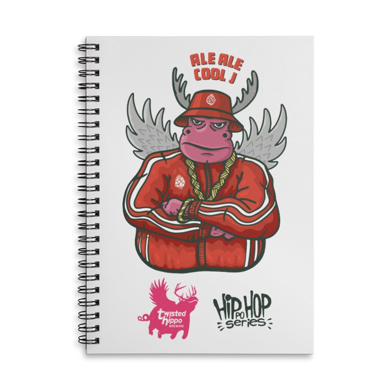 Ale Ale Cool J Accessories Notebook by Twisted Hippo Brewing