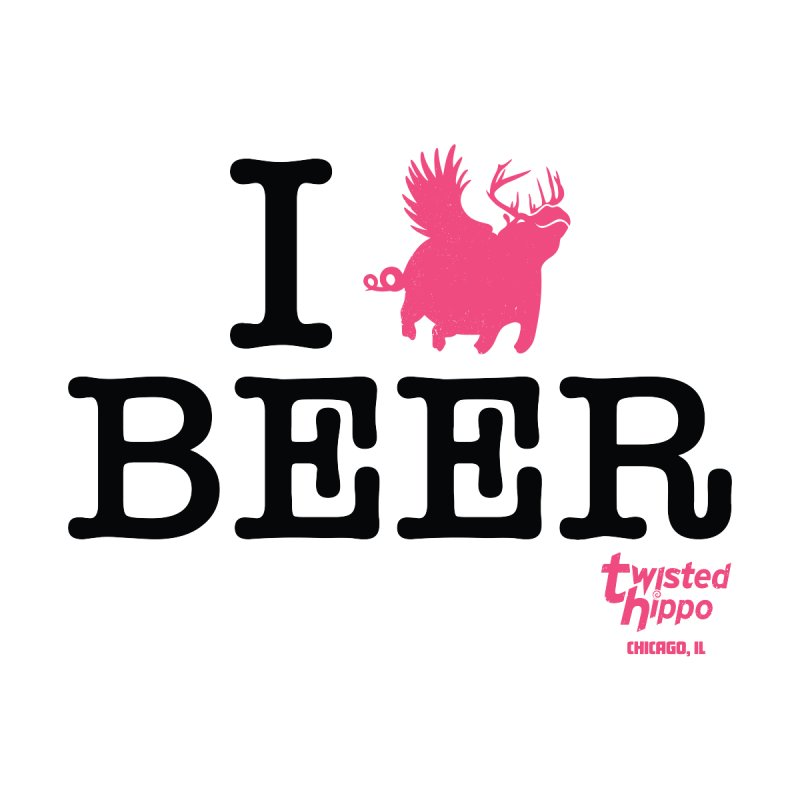 I Hippo Beer Women's Scoop Neck by Twisted Hippo Brewing