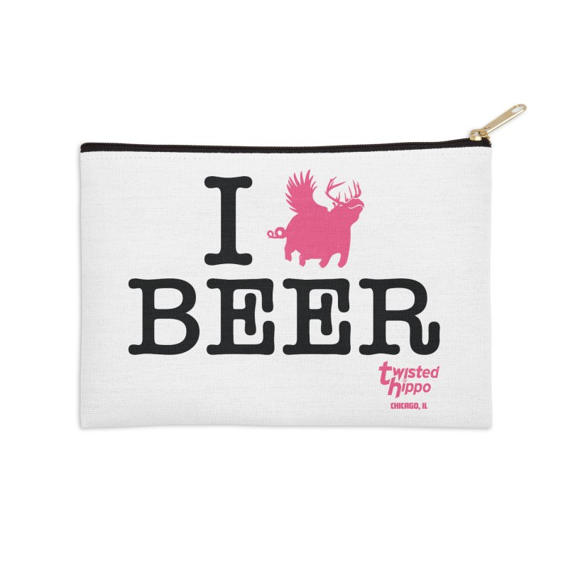 I Hippo Beer Accessories Zip Pouch by Twisted Hippo Brewing
