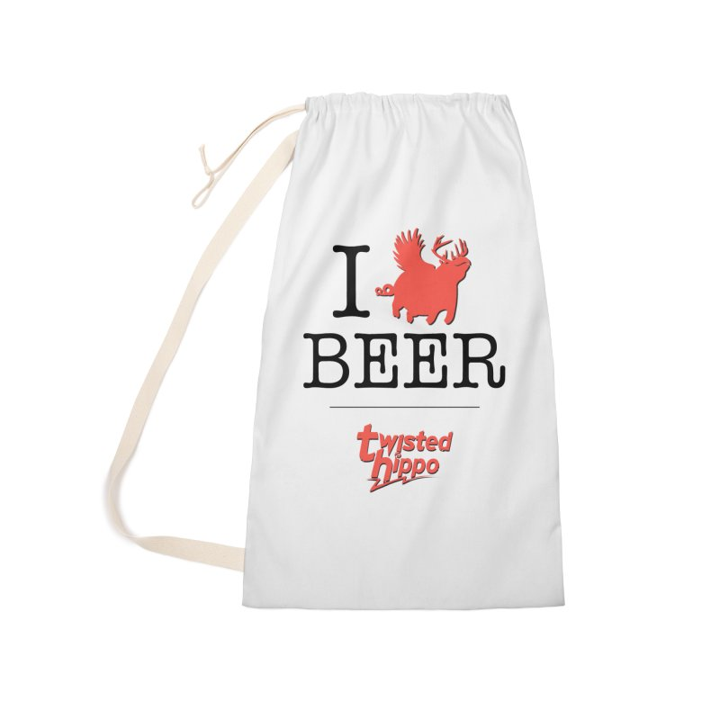 I Hippo Beer Accessories Laundry Bag Bag by Twisted Hippo Brewing