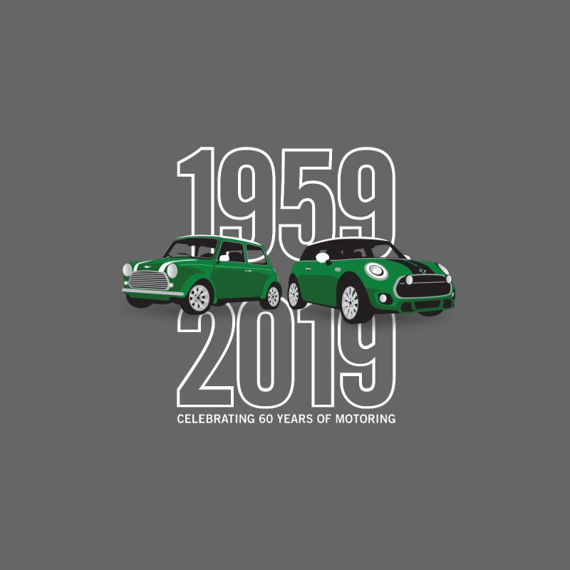 MINI 60th Anniversary   by TwistyMini Motoring Shirts