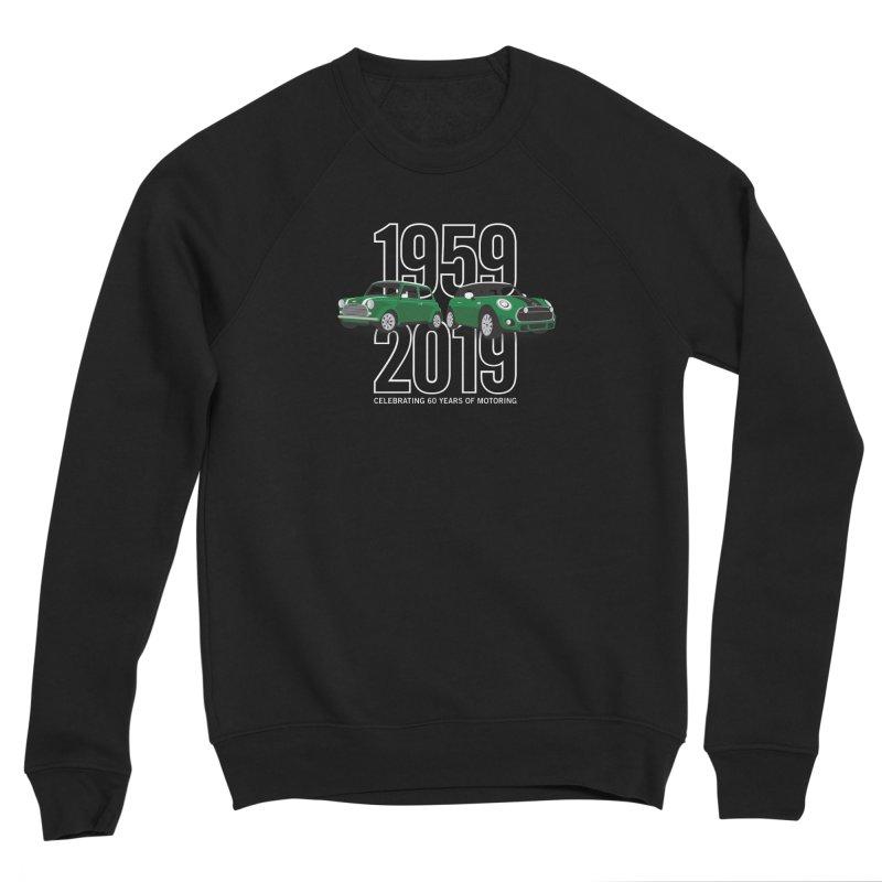 MINI 60th Anniversary Men's Sponge Fleece Sweatshirt by TwistyMini Motoring Shirts