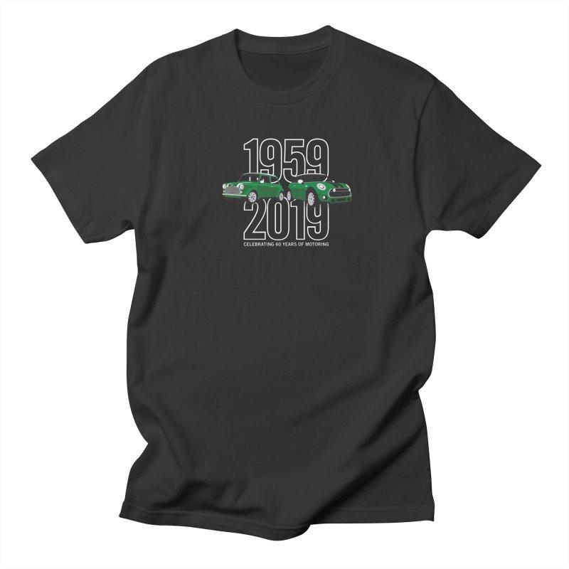 MINI 60th Anniversary Men's Regular T-Shirt by TwistyMini Motoring Shirts