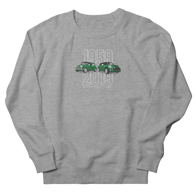 MINI 60th Anniversary Men's French Terry Sweatshirt by TwistyMini Motoring Shirts