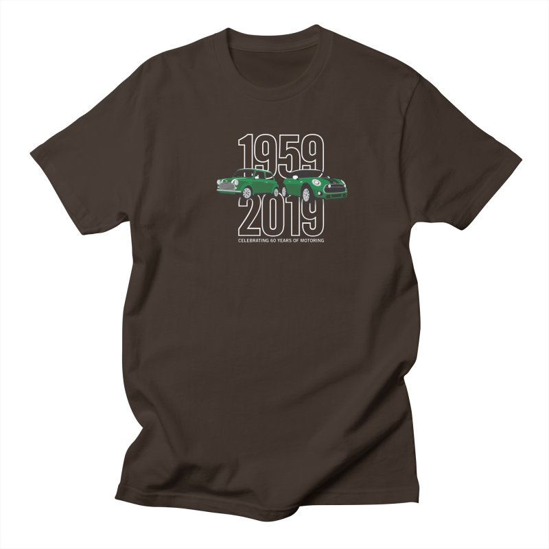 MINI 60th Anniversary Men's Regular T-Shirt by TwistyMini Motoring Shirts