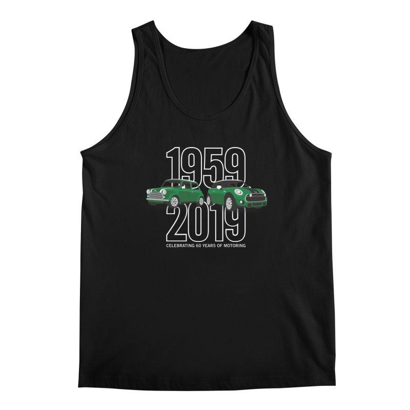 MINI 60th Anniversary Men's Regular Tank by TwistyMini Motoring Shirts