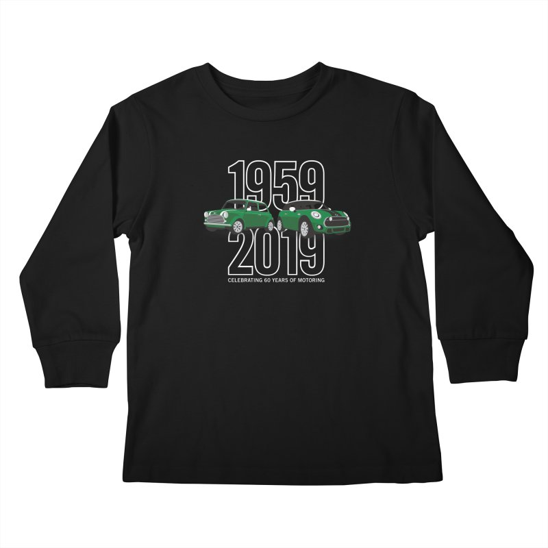 MINI 60th Anniversary Kids Longsleeve T-Shirt by TwistyMini Motoring Shirts