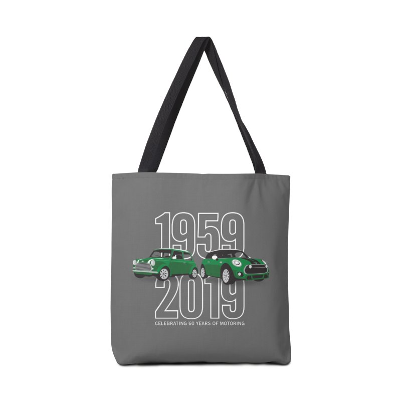 MINI 60th Anniversary Accessories Tote Bag Bag by TwistyMini Motoring Shirts