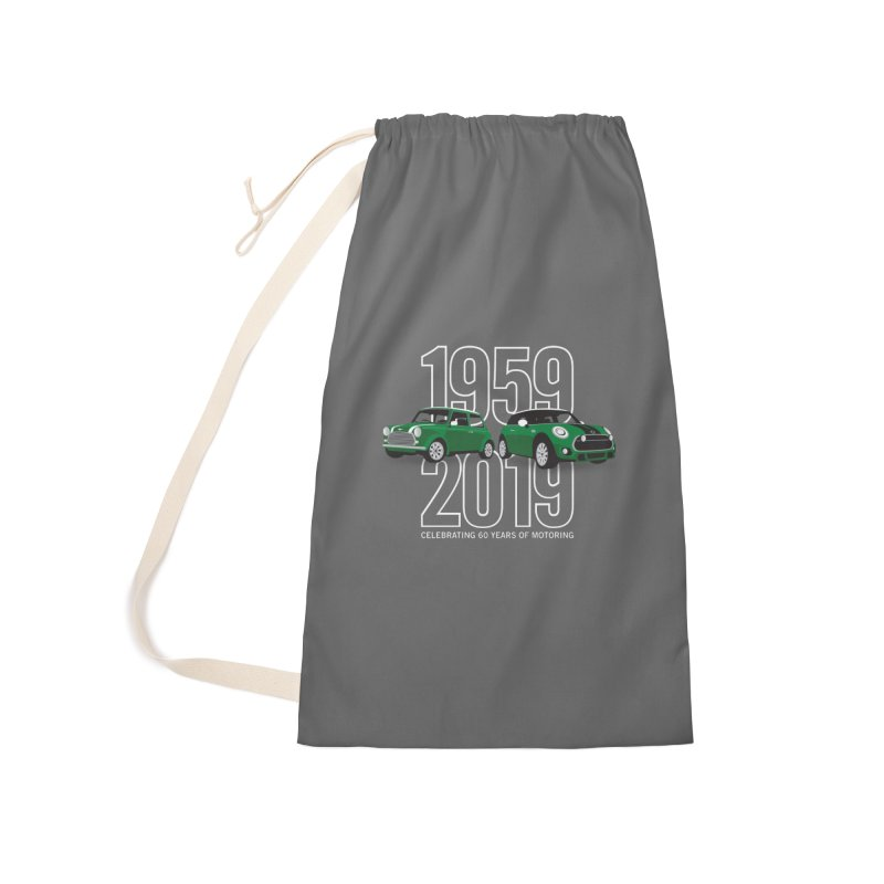 MINI 60th Anniversary Accessories Laundry Bag Bag by TwistyMini Motoring Shirts