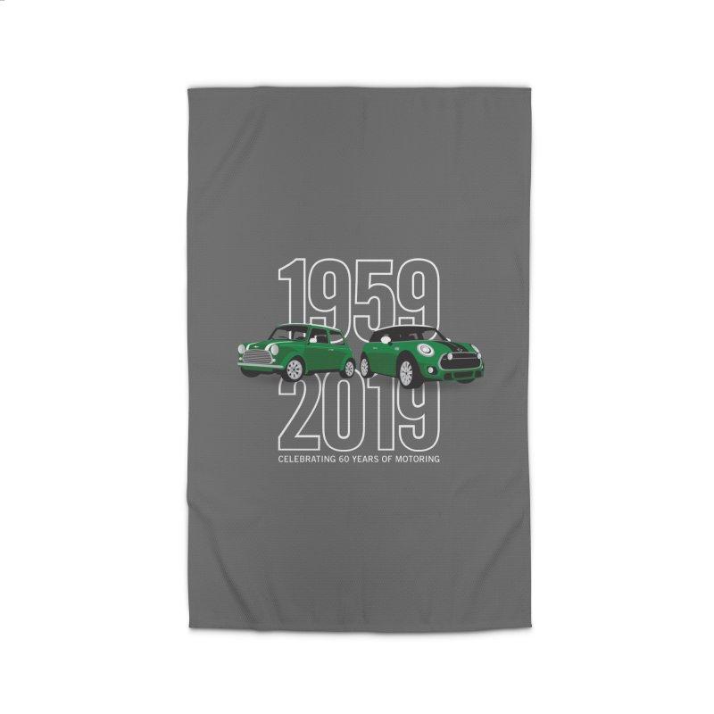 MINI 60th Anniversary Home Rug by TwistyMini Motoring Shirts