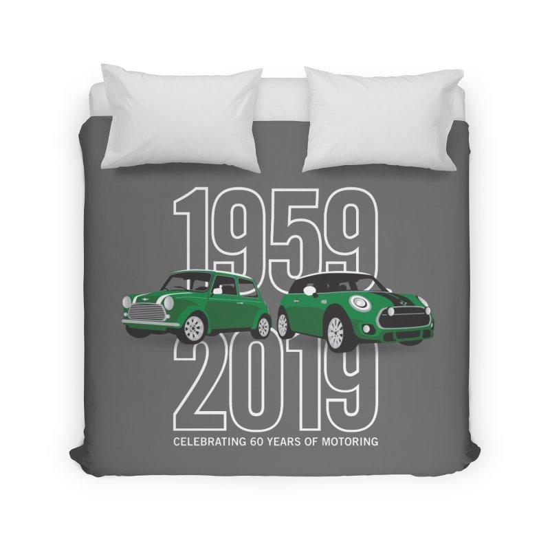 MINI 60th Anniversary Home Duvet by TwistyMini Motoring Shirts