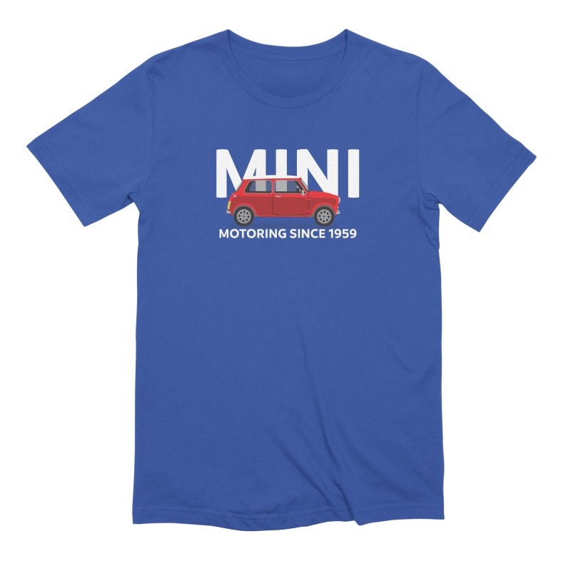 Classic Mini Men's Extra Soft T-Shirt by TwistyMini Motoring Shirts