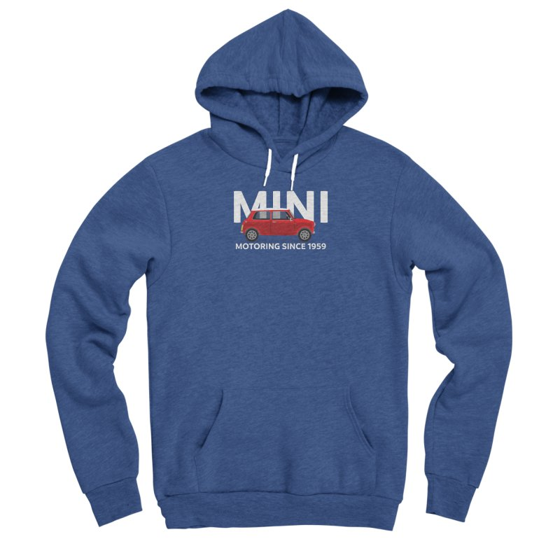 Classic Mini Men's Sponge Fleece Pullover Hoody by TwistyMini Motoring Shirts