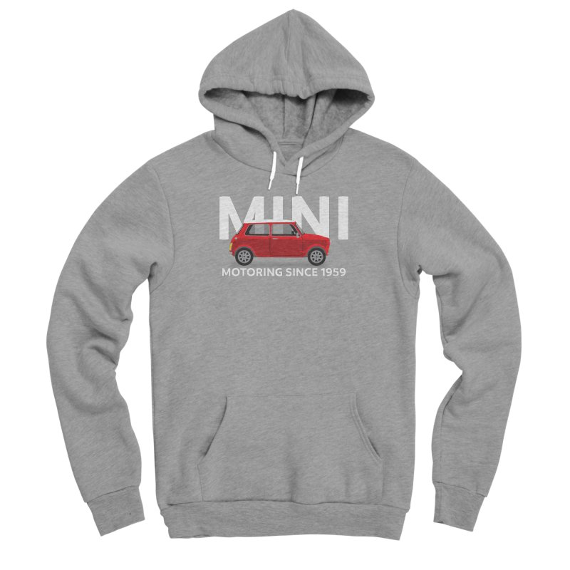 Classic Mini Women's Sponge Fleece Pullover Hoody by TwistyMini Motoring Shirts