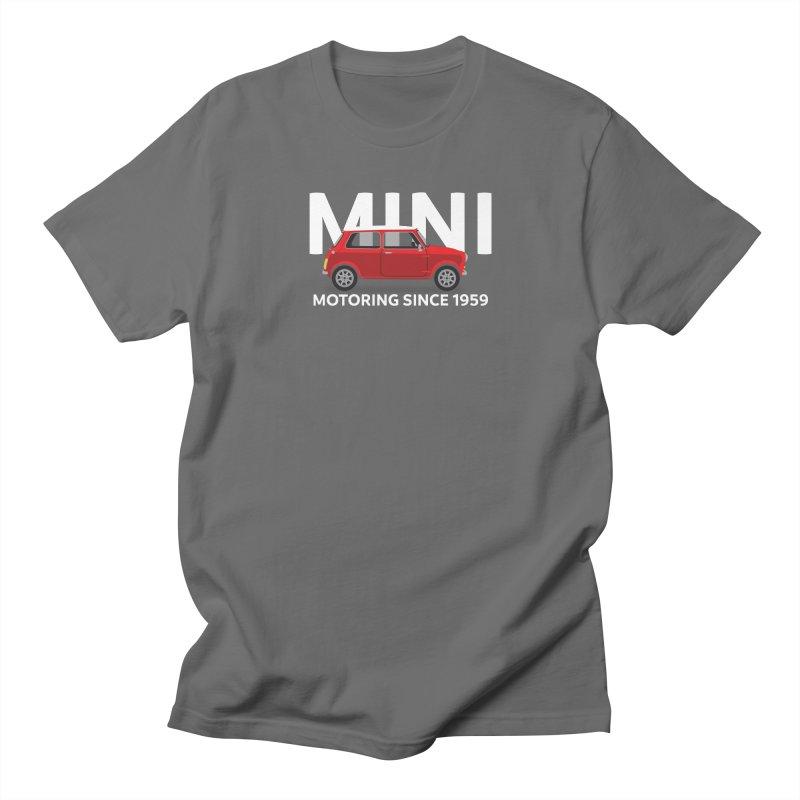 Classic Mini Men's T-Shirt by TwistyMini Motoring Shirts