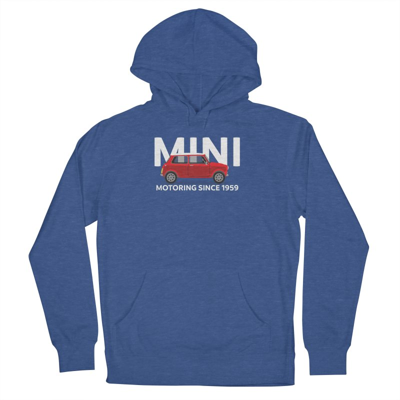 Classic Mini Men's French Terry Pullover Hoody by TwistyMini Motoring Shirts