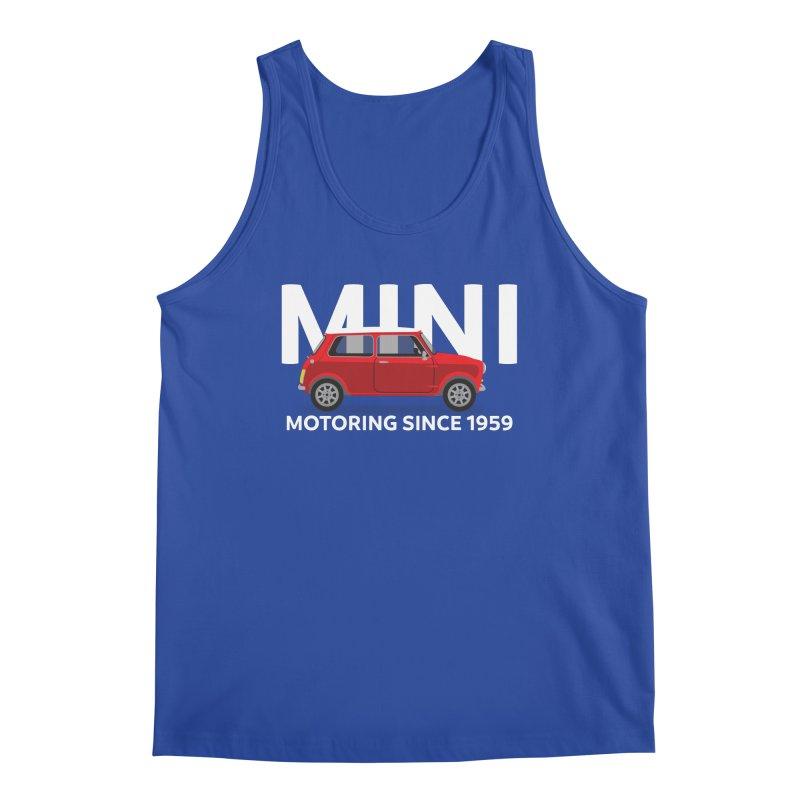 Classic Mini Men's Regular Tank by TwistyMini Motoring Shirts