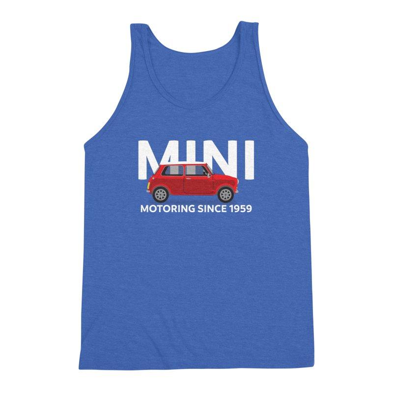Classic Mini Men's Triblend Tank by TwistyMini Motoring Shirts