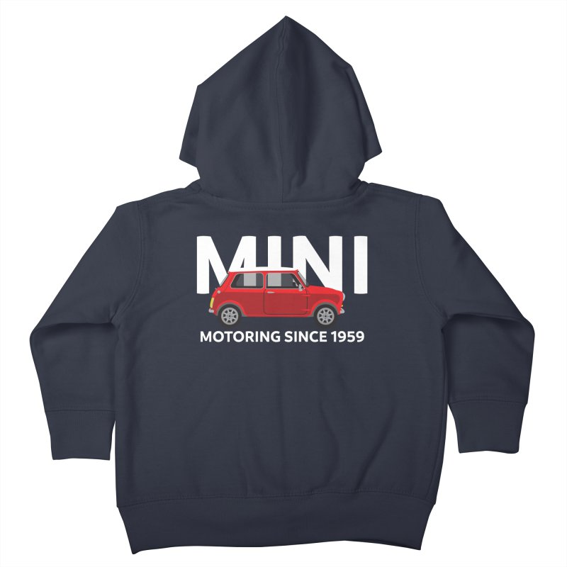 Classic Mini Kids Toddler Zip-Up Hoody by TwistyMini Motoring Shirts