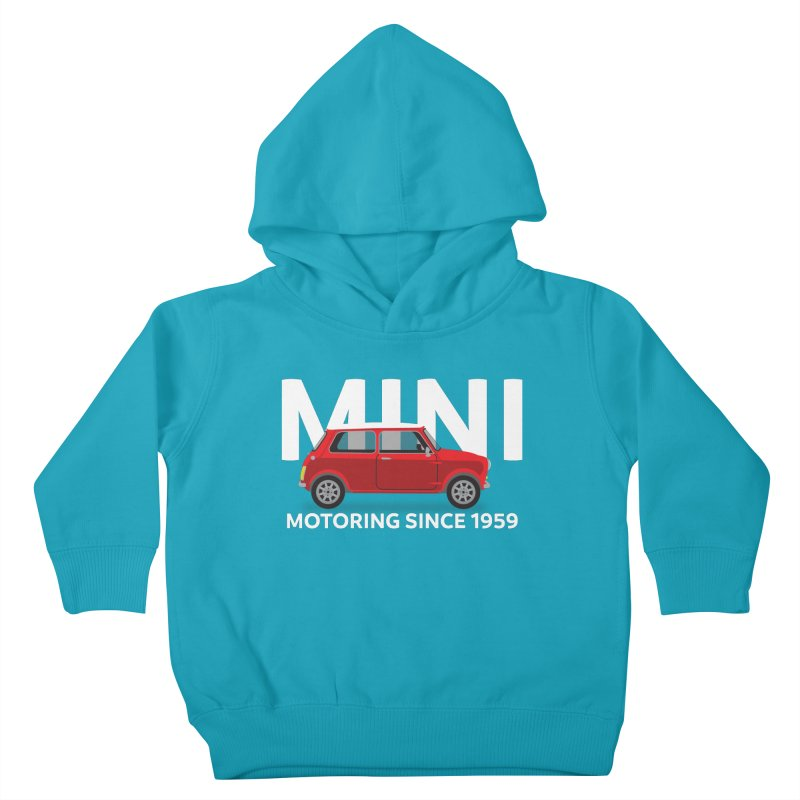 Classic Mini Kids Toddler Pullover Hoody by TwistyMini Motoring Shirts