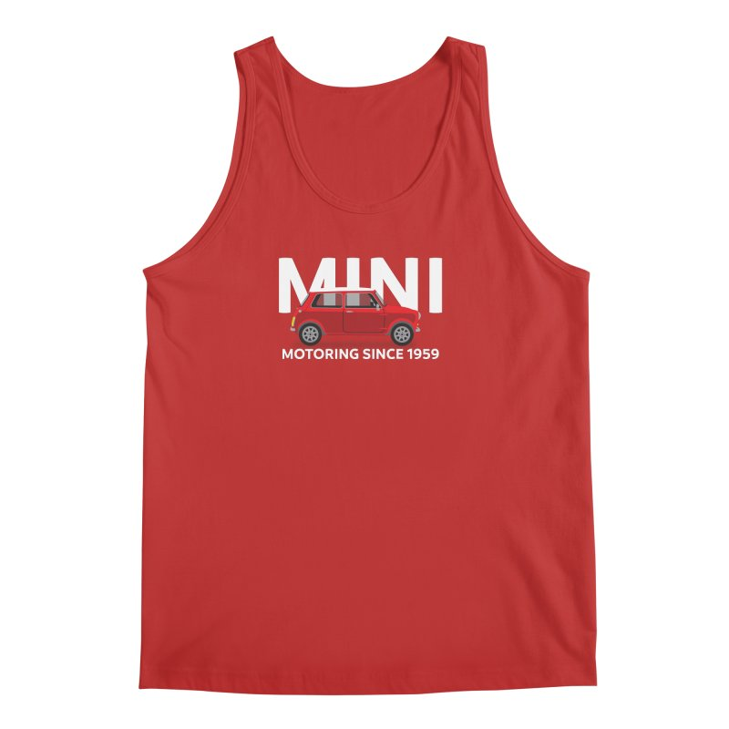 Classic Mini Men's Regular Tank by TwistyMini Motoring Shirts