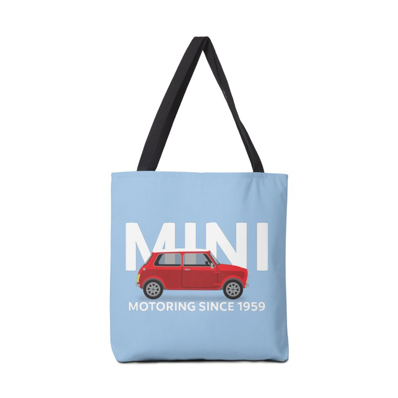 Classic Mini Accessories Tote Bag Bag by TwistyMini Motoring Shirts