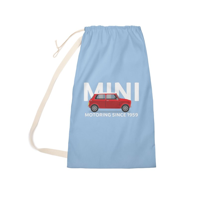 Classic Mini Accessories Laundry Bag Bag by TwistyMini Motoring Shirts