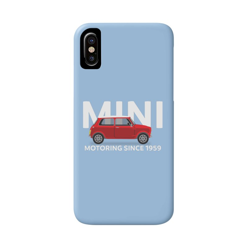 Classic Mini Accessories Phone Case by TwistyMini Motoring Shirts