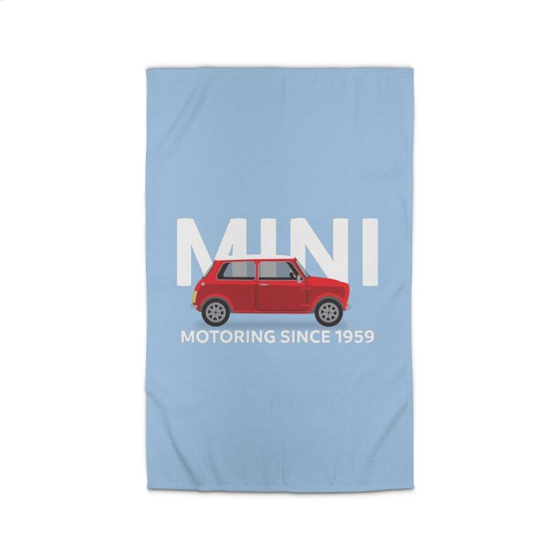 Classic Mini Home Rug by TwistyMini Motoring Shirts