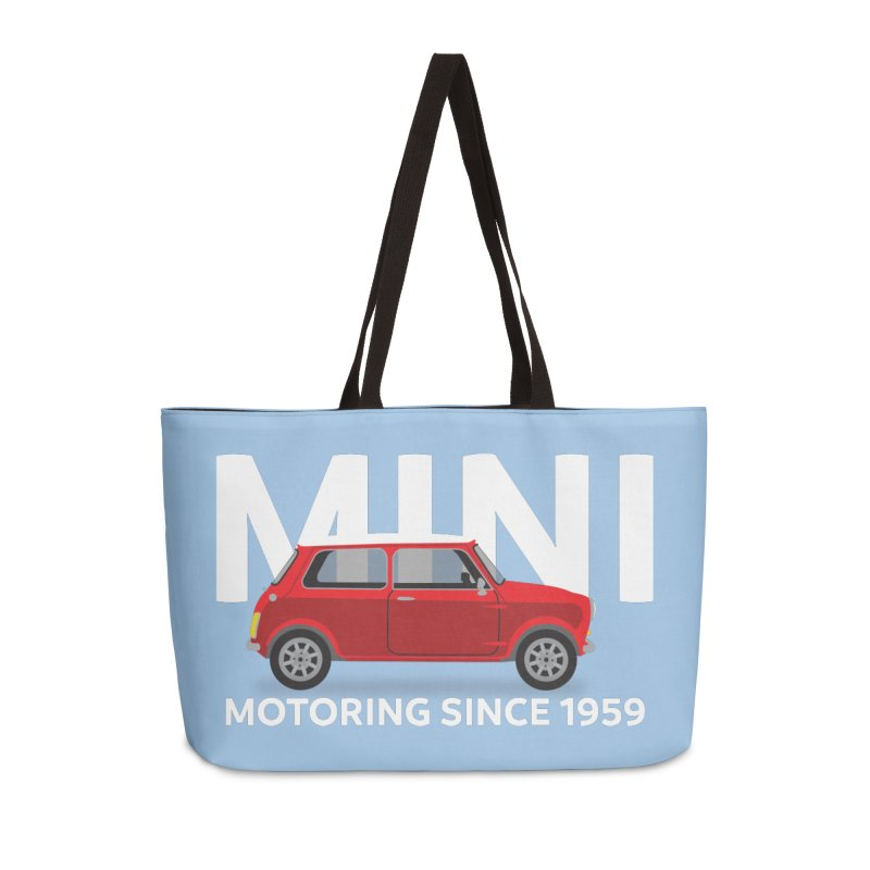 Classic Mini Accessories Weekender Bag Bag by TwistyMini Motoring Shirts