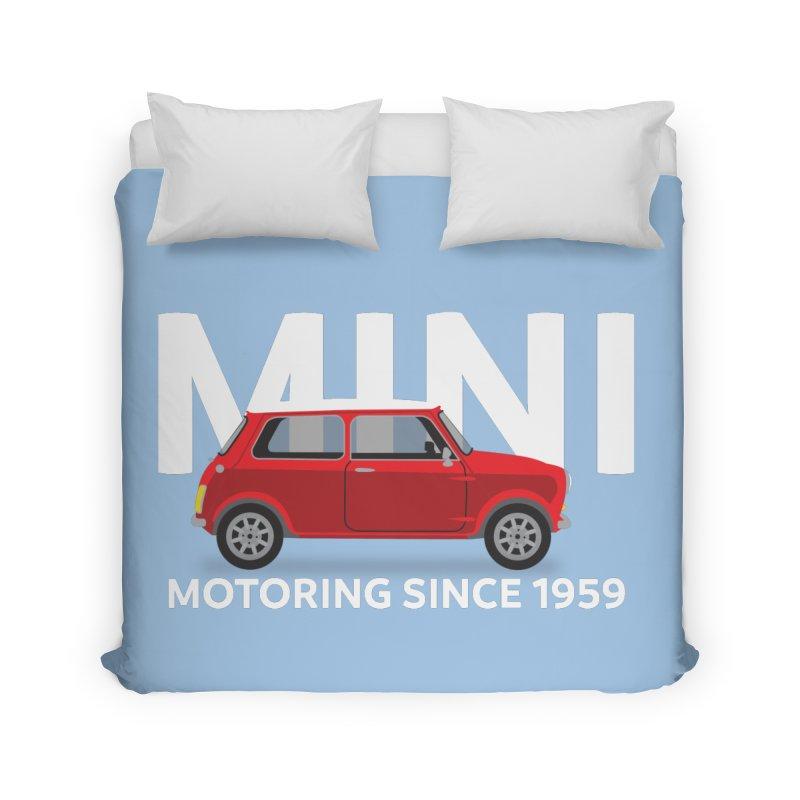 Classic Mini Home Duvet by TwistyMini Motoring Shirts