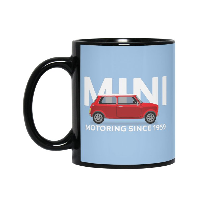 Classic Mini Accessories Standard Mug by TwistyMini Motoring Shirts