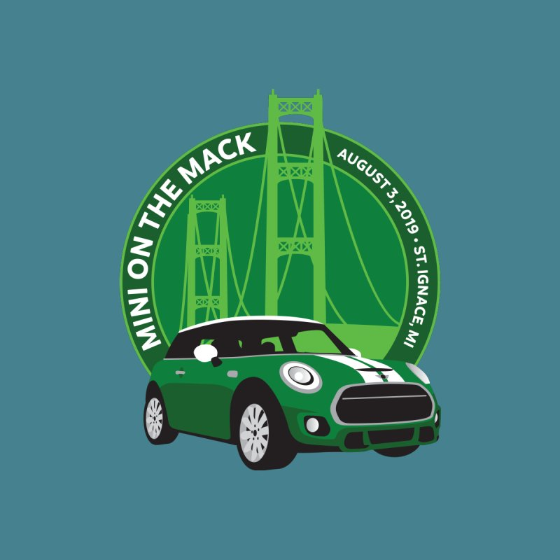 MINI on the Mack 2019 by TwistyMini Motoring Shirts