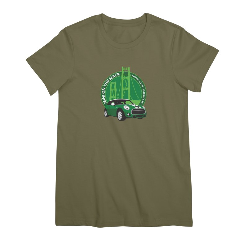 MINI on the Mack 2019 Women's Premium T-Shirt by TwistyMini Motoring Shirts