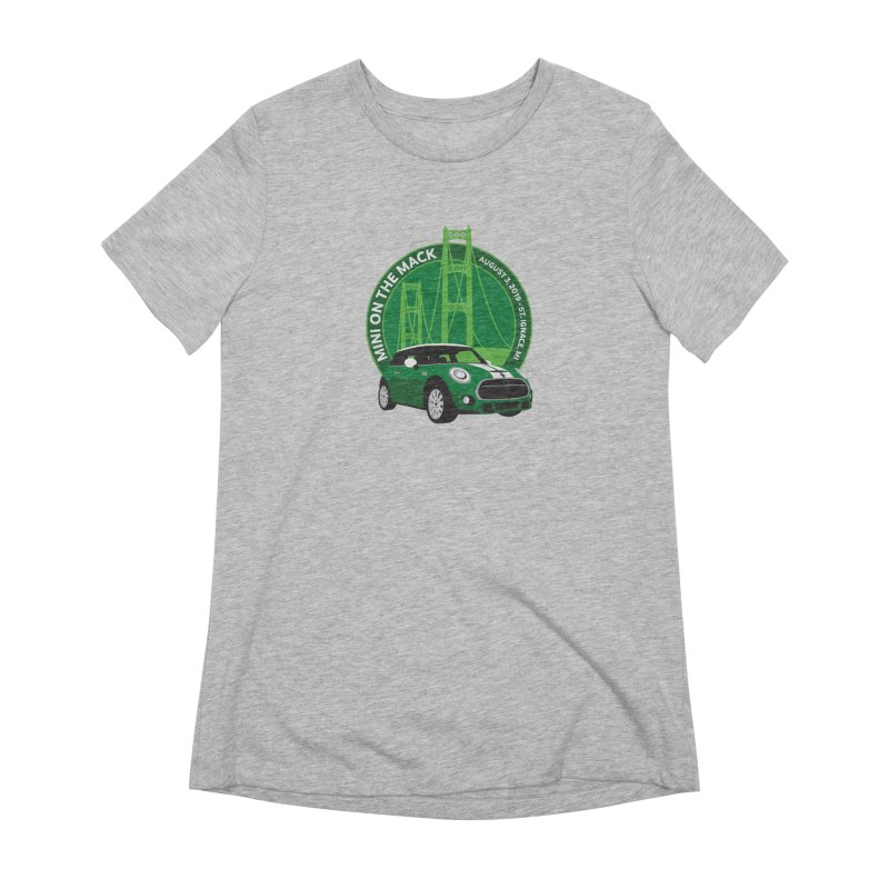 MINI on the Mack 2019 Women's Extra Soft T-Shirt by TwistyMini Motoring Shirts
