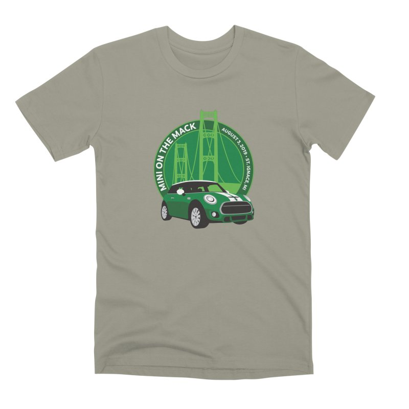 MINI on the Mack 2019 Men's Premium T-Shirt by TwistyMini Motoring Shirts
