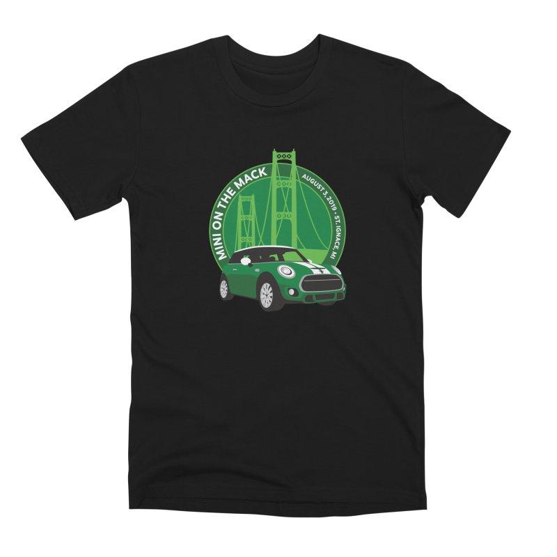 MINI on the Mack 2019 Men's Premium T-Shirt by TwistyMini Motoring Shirts
