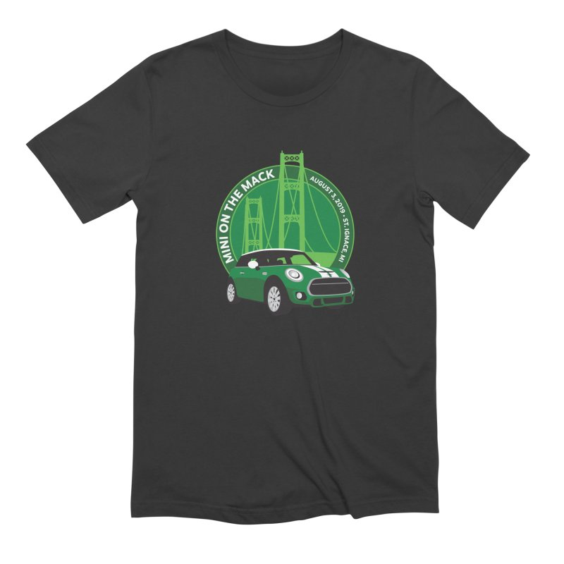 MINI on the Mack 2019 Men's Extra Soft T-Shirt by TwistyMini Motoring Shirts