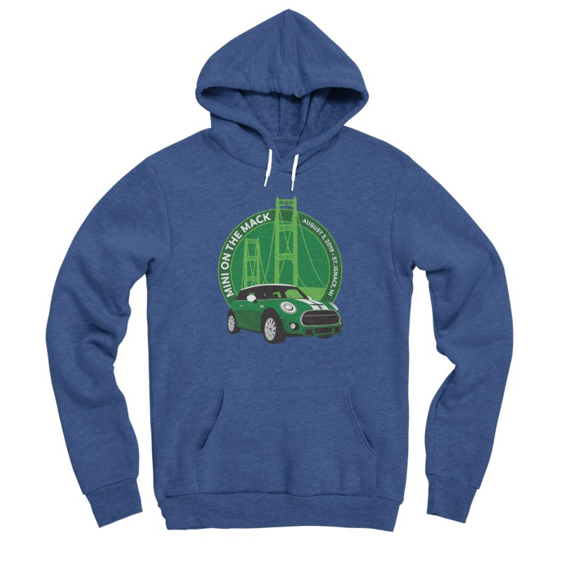 MINI on the Mack 2019 Women's Sponge Fleece Pullover Hoody by TwistyMini Motoring Shirts