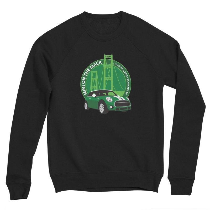 MINI on the Mack 2019 Men's Sponge Fleece Sweatshirt by TwistyMini Motoring Shirts