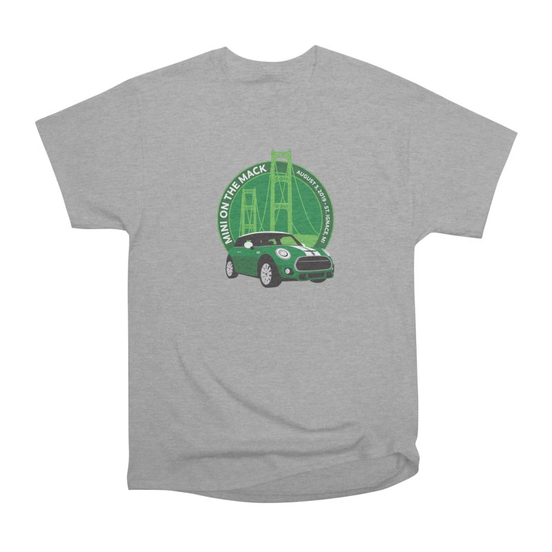 MINI on the Mack 2019 Men's Heavyweight T-Shirt by TwistyMini Motoring Shirts