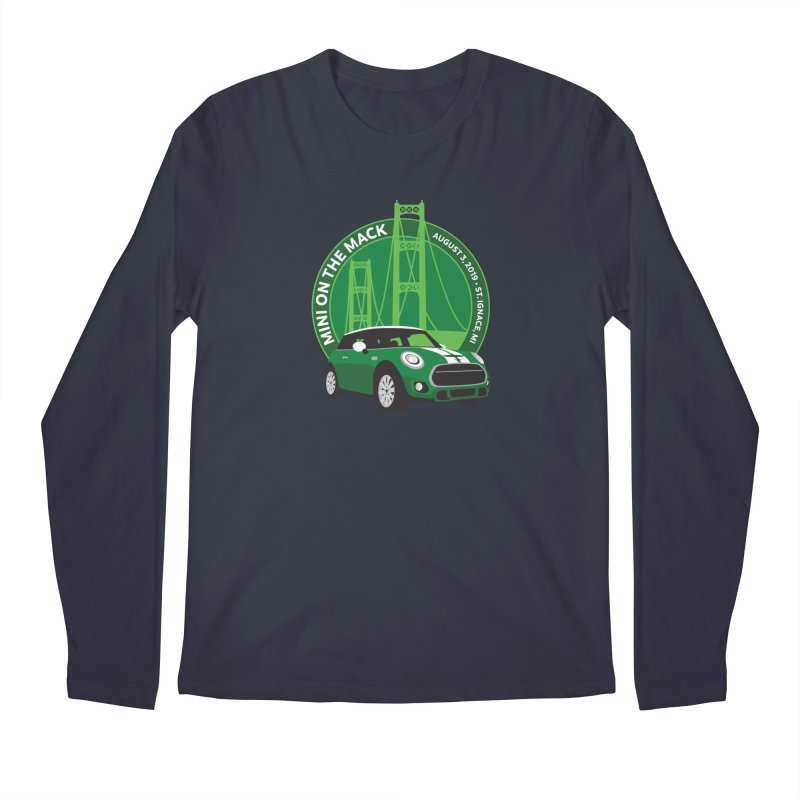 MINI on the Mack 2019 Men's Regular Longsleeve T-Shirt by TwistyMini Motoring Shirts