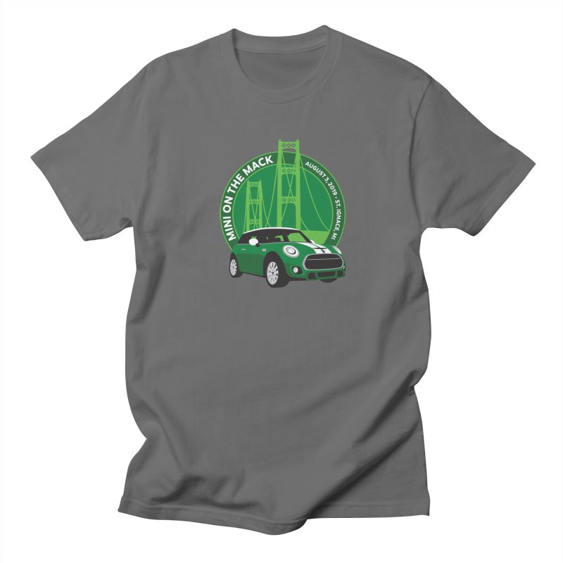 MINI on the Mack 2019 Men's T-Shirt by TwistyMini Motoring Shirts